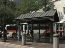 Capital Area Transit bus stop