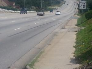 A 58-year-old Fayetteville woman died early Sunday after being hit by a car as she tried to cross Owen Drive, police said.