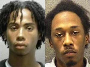 Torico Antonio Edwards Jr., left, and Darren Devon Taylor