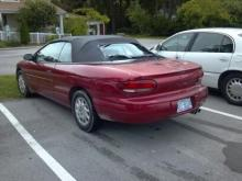 Investigators believe Abigale Lefevers, 12, was abducted by Timothy Howard Newman in this red 1998 Chrysler Sebring with North Carolina license tag AKT 6534.