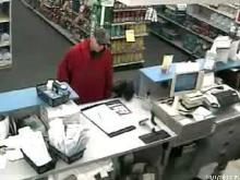 Security video shows pharmacy robbery