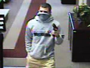Fayetteville police are trying to identify a masked man who robbed the BB&T branch at 7790 Good Middling Road on Oct. 5, 2012.