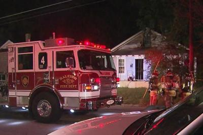 A fire damaged a house at 2205 Poole Road in Raleigh early Sunday, Oct. 7, 2012.