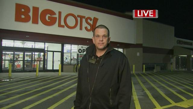 Big Lots manager Shawn Hubbard