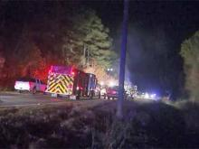One man was killed and two other people were injured early Saturday morning after a high-speed chase ended in a fiery crash on North Carolina Highway 98 in Durham County, state Highway Patrol officials said.