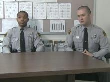 Troopers J.J. Garrett and J.T. Mitchell