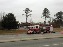 Nine Fayetteville Fire Department crews responded to a house fire on Cliffdale Road early Wednesday.