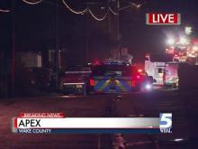 Apex assisted living fire