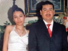 Itzel Vasquez and her father, Carlos Vasquez