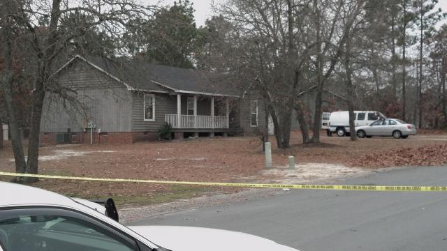 Fayetteville police investigate a fatal shooting near 6861 Woodmark Drive in the Cliffdale West subdivision on Tuesday, Jan. 1, 2013.