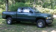 The Lee County Sheriff's Office is searching for a mid-1990s or early 2000s green Dodge Ram extended-cab pickup, like the one pictured here, that was seen in the area where a hunter was shot on Dec. 18, 2012.