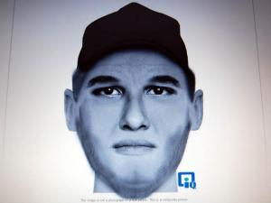 The Lee County Sheriff's Office has released a composite sketch of a man seen in the area where a hunter was shot on Dec. 18, 2012. He was described as white, in his 20s, with fair skin and scruffy, reddish facial hair. He was wearing a camouflage hat.
