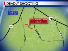 Sheriff Donnie Harrison said Jose Samual Flores Mendoza, 34, and Maria Saravia Mendoza, 33, were shot at their home at 708 Colonial Drive, in a part of the county near Garner.