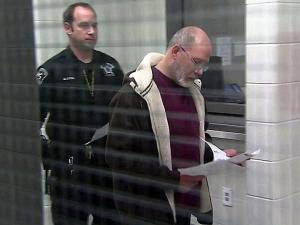Steven Patrick O'Connell appears before a Wake County magistrate Jan. 7, 2013.