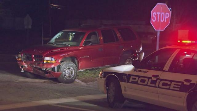A Durham police officer was injured Tuesday night in a hit-and-run crash on N.C. Highway 98, police said.