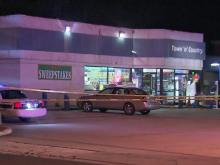 A man was killed late Wednesday in a shooting outside the Town-N-Country convenience store at 3101  University Drive, Durham police said.