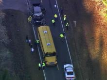 Sanford school bus wreck