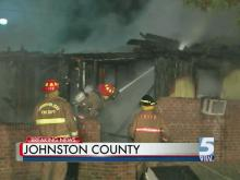 Johnston County fire