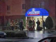 A hotel in Raleigh was evacuated Saturday night after authorities responded to a call about a suspicious odor. The incident happened about 9:30 p.m. at the Candlewood Suites, 4433 Lead Mine Road, near Crabtree Valley Mall. A hazardous materials team was at the scene.