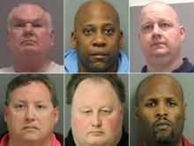 Six men arrested in Wake Forest prostitution sting