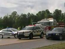 Two people were killed Monday afternoon in a three-vehicle wreck on U.S. Highway 264 at Wendell Boulevard in Wake County, according to the North Carolina State Highway Patrol.