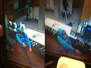 Cary police are looking for the man in these surveillance photos taken just after 3 a.m. on June 2, 2013, at McDonald's, at 869 SE Maynard Road.