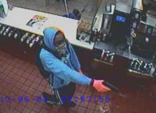 McDonald's robbery surveillance video