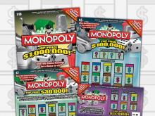 Lottery Monopoly game