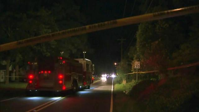 A bicyclist was killed Monday night after he was struck by a dark-colored sedan on Hillandale Road near Interstate 85 in Durham, police said.