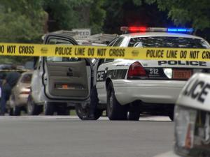 A man who refused to drop a knife was shot and killed by a Durham police officer Saturday morning in the 800 block of Park Avenue, a police spokeswoman said.