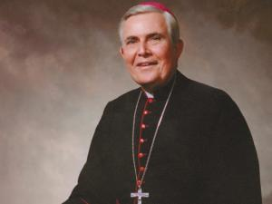 Bishop emeritus F. Joseph Gossman, photo courtesy of Catholic Diocese of Raleigh