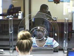 Cumberland County authorities are looking for this woman who they say tried to cash a forged check stolen from a local church.