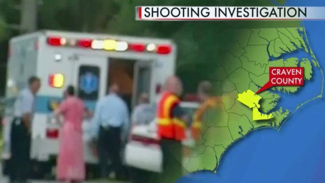 Craven County shooter, victims in hospital