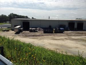 Cumberland County authorities on Thursday were investigating the death of a woman whose body was found at a recycling plant in Fayetteville.