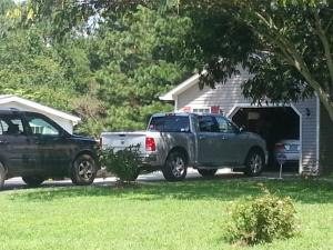 A 71-year-old Wake County man died Thursday morning after being pinned under a pickup truck while changing a tire, the Wake County Sheriff's Office said.