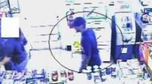 Fayetteville police released surveillance photos of a man Saturday who they believe is responsible for two convenience store robberies in the last six days.