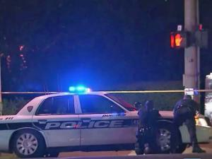 Campus police shot and killed a man near North Carolina Central University's campus late Monday after the man challenged them with a gun.