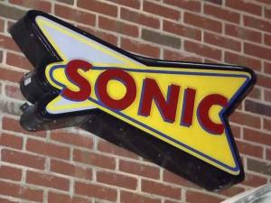 Raleigh police were searching early Thursday for two men who robbed a Sonic restaurant in the 100 block of Jones Franklin Road at about 1 a.m.