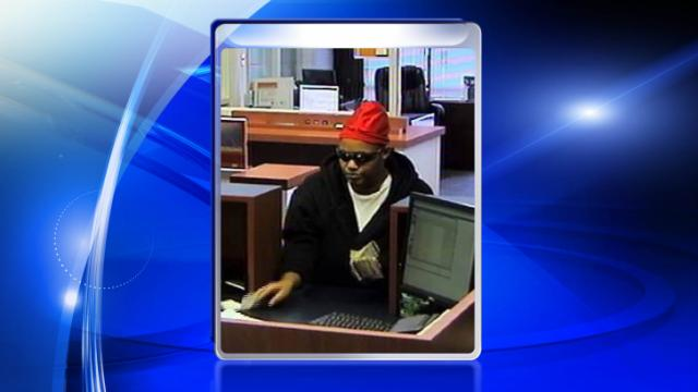 A woman robbed a PNC Bank branch on Ramsey Street in Fayetteville on Dec. 19, 2013.