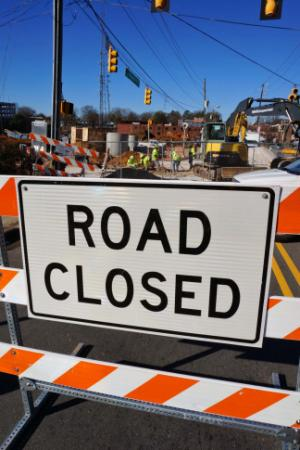 A section of Hillsborough Street will be closed to traffic through Jan. 5 to allow crews to install new sewer lines for a student apartment and retail project under construction near the North Carolina State University campus, officials said Thursday.