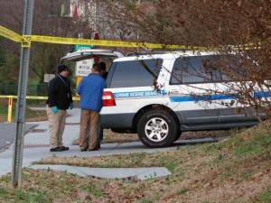 One person was killed and another injured early Friday, Dec. 20, 2013, in a shooting on Wesley Street in Carrboro, police said.