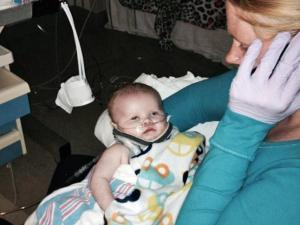 A two-month-old infant found unresponsive by Johnston County authorities more than a week ago has been taken off of life-support and is showing signs of improvement, according to his mother.