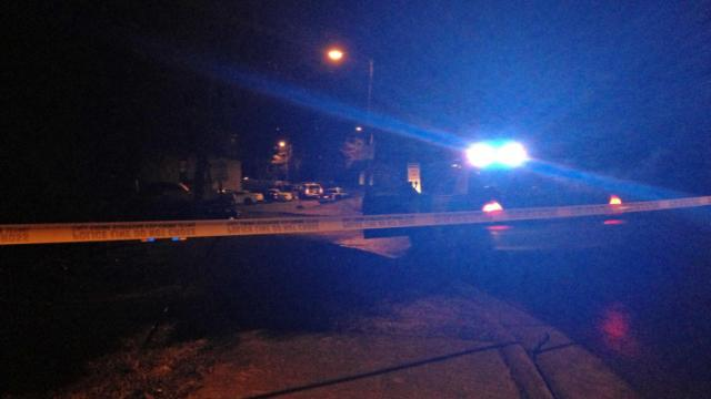 A man was taken to WakeMed early Friday, Jan. 10, 2014, after being shot at an apartment south of downtown Raleigh, police said.