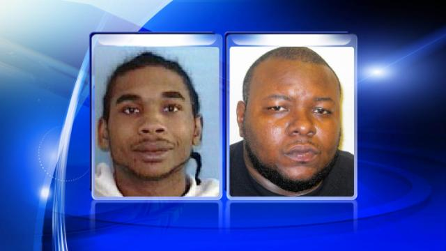 Jamell Howard, left, and Wesley Devon Warren are charged in two of three shootings that occurred in Kinston on Feb. 23, 2014.