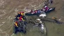 Kayakers rescued on Cape Fear River on March 10, 2014