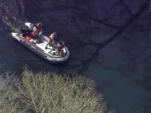 A body was found Wednesday in the South River along the Cumberland-Sampson county lines, authorities said.
