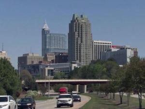 Downtown Raleigh skyline