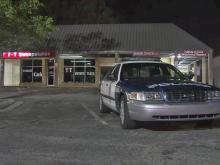 An unidentified man was injured early Wednesday in a shooting at a strip mall near the intersection of Capital and Crabtree boulevards, Raleigh police said.
