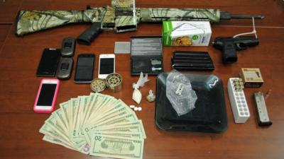 Durham County sheriff's deputies seized drugs, cash, weapons and cellphones from the home of Dwight Allan Judd Jr.. The 24-year-old has been arrested 15 times.