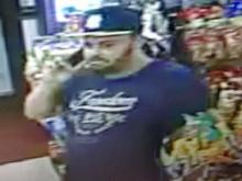 Raleigh police think the man in this surveillance photo may have information about a homicide Saturday on Capital Boulevard.